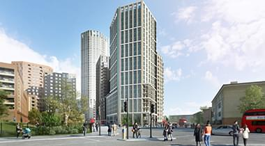 371 Bed Co-Living scheme Tottenham